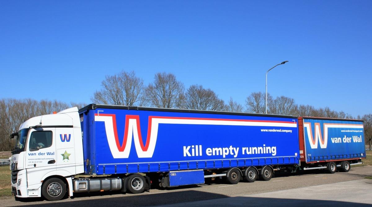 kill empty running van der wal