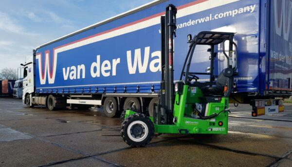 heftruck vrachtwagen van der wal