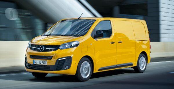 bedrijfswagen Opel Vivaro-e
