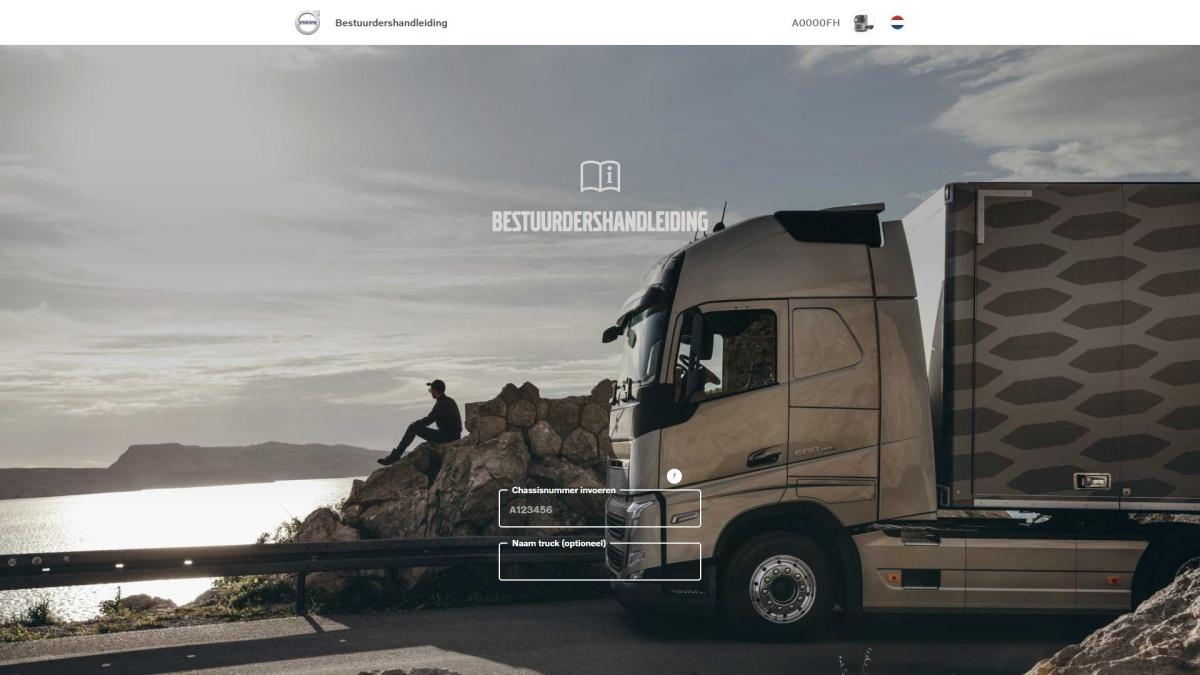 onlinebestuurdershandleiding volvo trucks