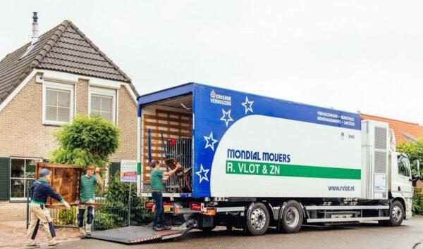 verhuiswagen op waterstof