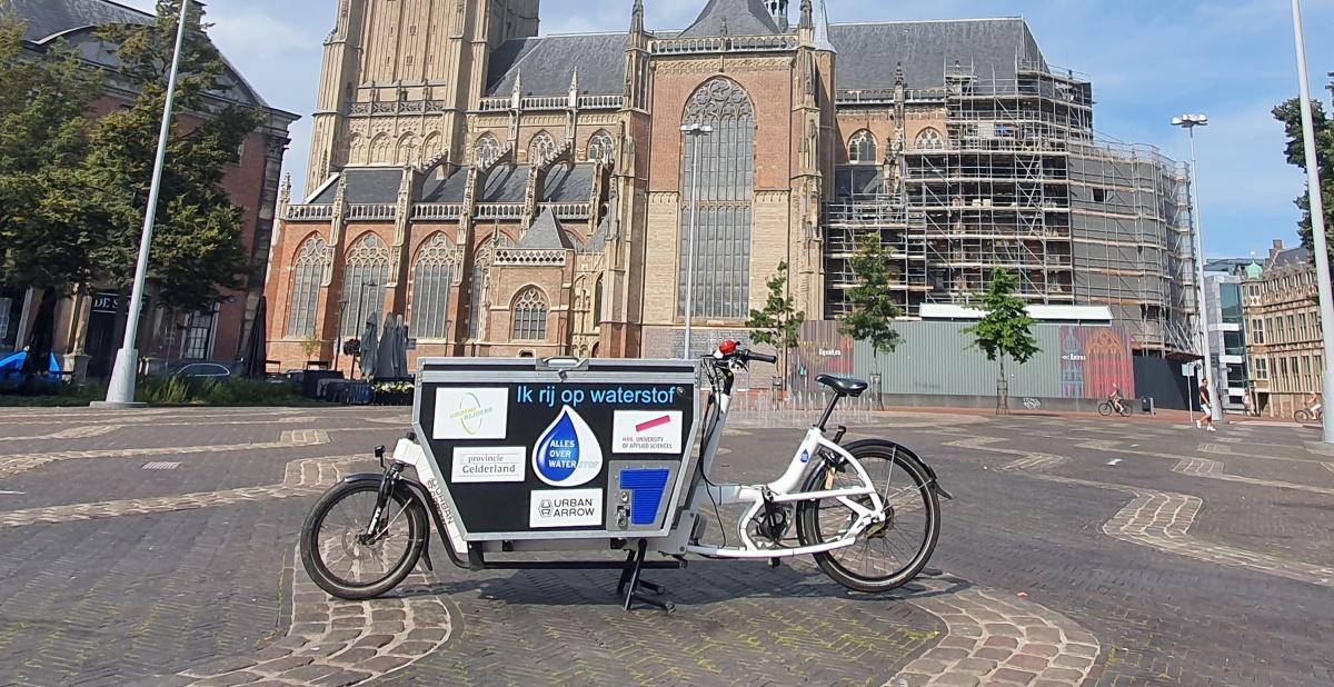 HydroCargo waterstofbakfiets eusebiuskerk arnhem