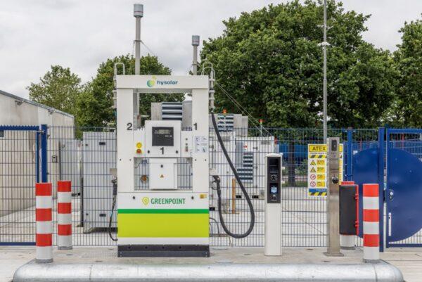 waterstoftankstation nieuwegein hysolar/greenpoint