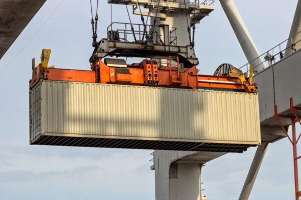 schaarste zeecontainers
